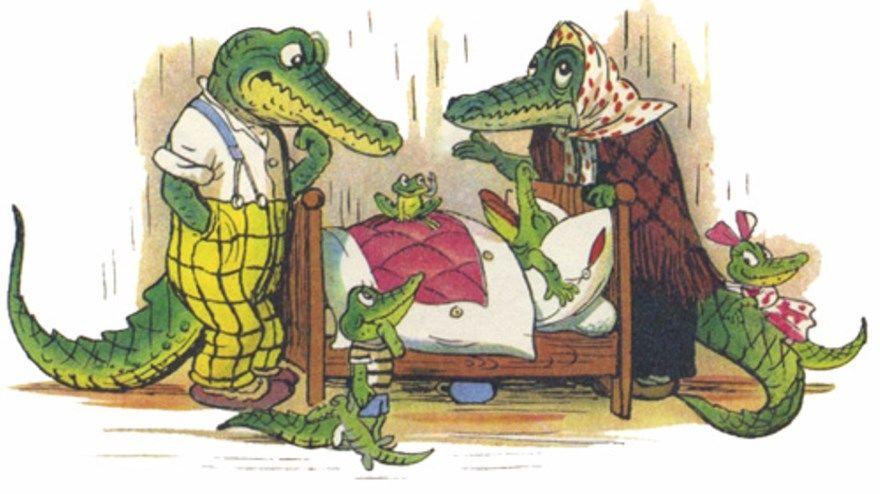 Сказка Крокодил Чуковский читать текст полностью
