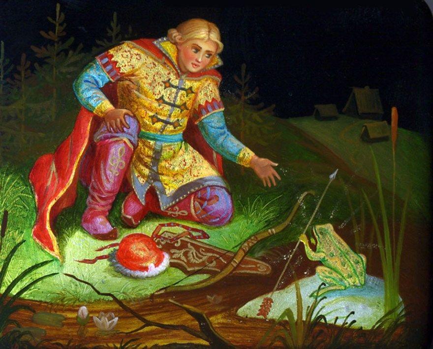 Русская народная сказка Царевна лягушка текст бесплатно