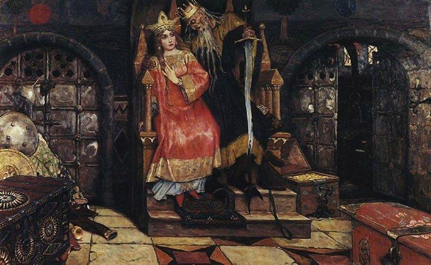 Русская народная сказка Кощей Бессмертный текст бесплатно