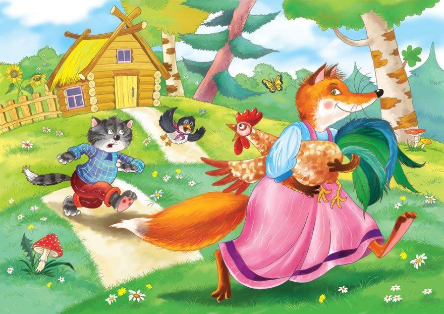 Картинки из сказок для детей русские народные сказки