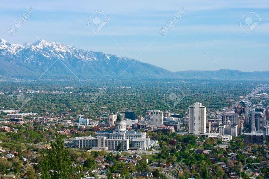 Солт Лейк Сити 2019 город штат Юта США фото скачать бесплатно  онлайн в хорошем качестве