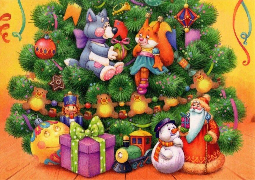 Стихи Новый год для детей 3 4 лет короткие