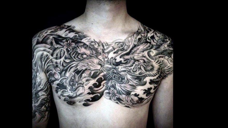 тату дракон значение для мужчин женщин рука бедро нога предплечье кисть плечо запястье предплечье грудь спина
