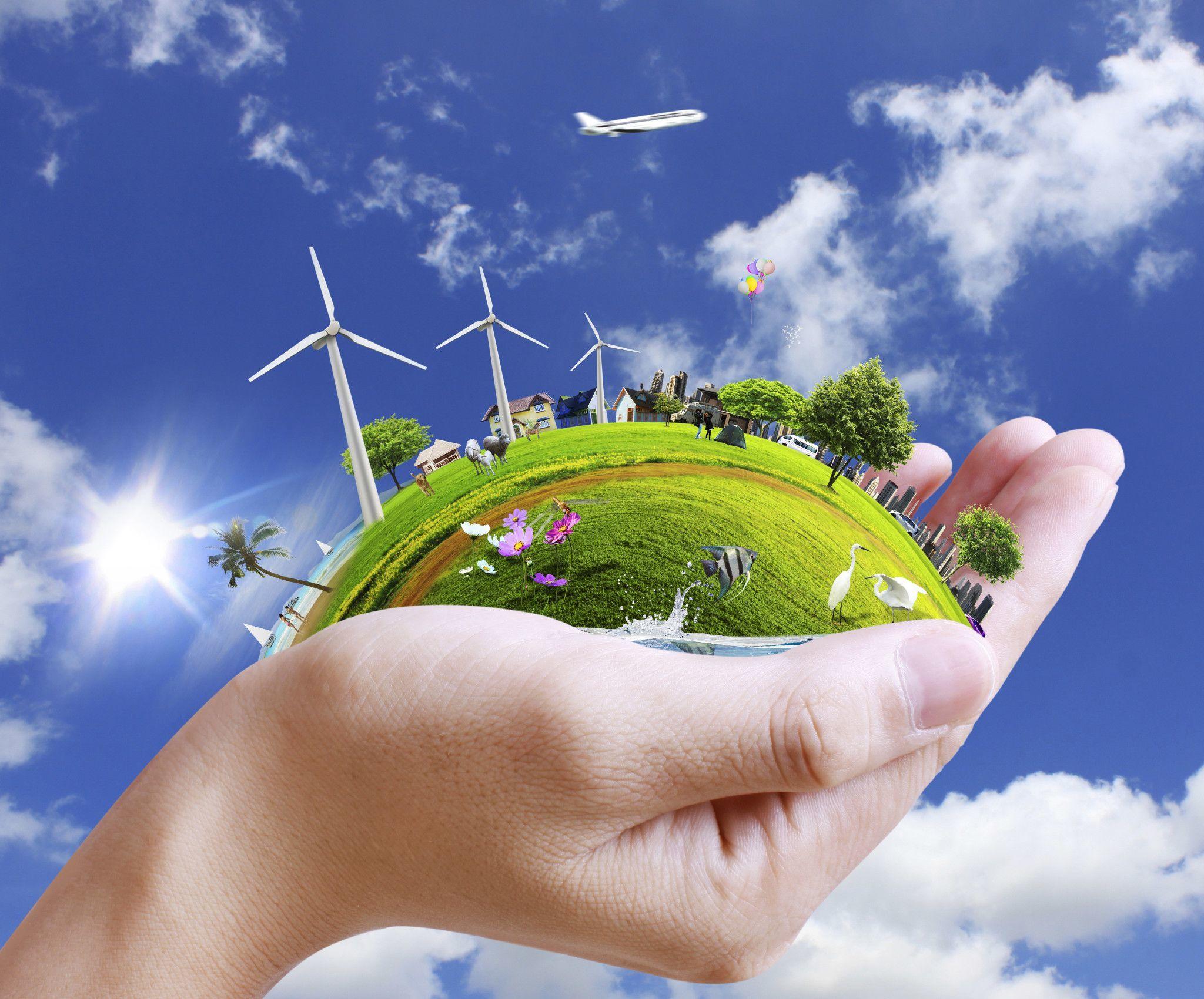 воздух вода земля солнечная радиация окружающая среда выбросы факторы организм человека