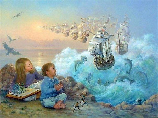 Развитие воображения у детей, воображение